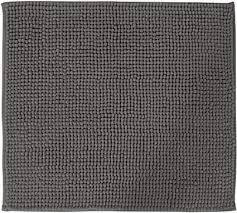 diluma badematte chenille 2er set 50x80cm 45x50cm grau rutschfester hochflor badteppich wellness badvorleger saugfähig und flauschig