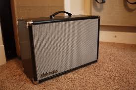 Fender 2x10 Guitar Cabinet by Custom 2x10