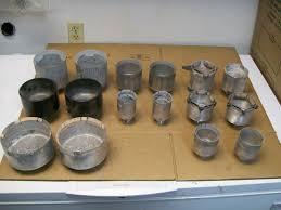 custom made aluminum sphere machine making cups lapidary tools