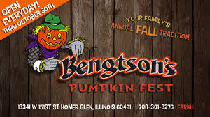Pumpkin Patch Homer Glen Il by Bengtson Pumpkin Farm New Corn Pool Barn Youtube