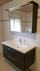badmöbel mit spiegelschrank und waschbecken inkl unterschrank