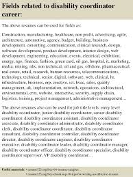 16 Fields Related To Disability