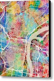 Philadelphia Mural Arts Map by 14 Best Maps Images On Pinterest Map Design Hand Drawn And