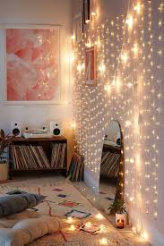 Bedroom String Lights Wall Collection And Outstanding Ikea