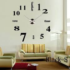 Home Decoration Quartz Big Wall Clock Modern Design 3D DIY Large Decorative Clocks Watch Unique Gift Bulk Price In From Garden