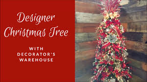 Designer Christmas Tree Decorating Tutorial Decorators Warehouse