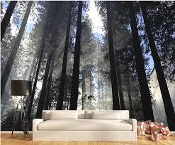 individuelle fototapeten 3d wald 3d wandbilder wallpaper für wohnzimmer dekoration tapete 3d moderne