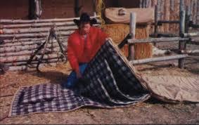 Cowboy Bed Roll by Canvas Bedroll U0026 Saddle Bedrolls Shipping Nationwide
