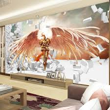 3D Game Wallpaper League Of Legends Photo Brick Wall Murals Bedroom Boys Room Decor