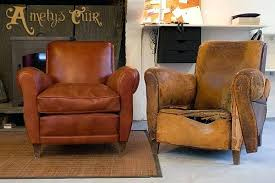 recouvrir un fauteuil club prix fauteuil club cuir paire de fauteuils club en cuir fauve