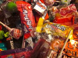 Tainted Halloween Candy 2015 by Gmos Words For A Better World