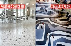 Polished Concrete Vs Resin Floors