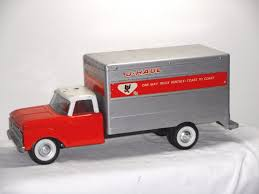 VINTAGE 1960s NYLINT UHAUL BOX TRUCK, ADVERTISING TOY. -- Antique ... Vintage Nylint Metal Dolly Madison Cake Big Rig Truck 21long Hard To Vintage Pickup Truck Cadet Bike Buggy Red Cab 761 Usa 13 U Haul Ford Pick Up Toy And Trailer Ardiafm Chevy Blazer Clean With Uhaul Nice Set Lk 55 Aerial Hook N Ladder 1970s 1989 Sound Machine Fire Water Cannon Nylint Trucks 1830210882 Amazoncom Classics Coal Gravel Steel Muscle Dump Hakes Cadet Camper And Pickup Boxed Truck Pair Speedway Special And 500 Racer For Sale Antique Toys
