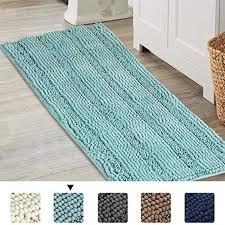bathroom runner rug chenille area rug set