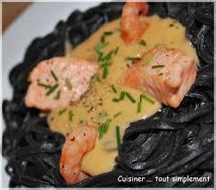 pates encre de seiche sauce homard pour pâtes à l encre de seiche cuisiner tout
