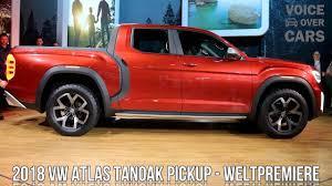 2018 Volkswagen Atlas Tanoak Pickup USA Weltpremiere NYIAS 2018 ...