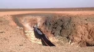 Pipeline Blast Leaves 70 Foot Crater