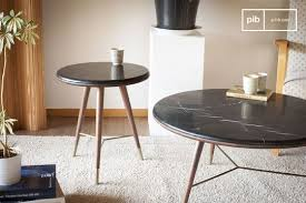 table pour canapé table basse vintage pib