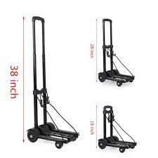 Maxgoods Portable Folding Hand Truck, Heavy Duty 4-Wheel Solid ... Shop Hand Trucks Dollies At Lowescom Wesco Superlite Folding Truck Walmartcom Sydney Trolleys 70 Kg155 Lbs Heavy Duty 4wheel Solid Top 10 Best Reviewed In 2018 170 Lbs Cart Dolly Push Collapsible Trolley Milwaukee 150 Lb Black Silver Fold Up Alinum By Cosco Shifter 300 2in1 Convertible And With Reviews 2017 Research Of Video Review Cheap Foldable Ht1864 Find