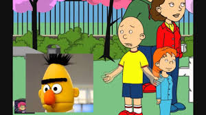 Caillou Scares Rosie In The Bathtub by Youtube Caillou Gets Ungrounded For Letting Bert Out Youtube