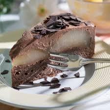 schoko birnen torte