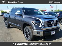 100 4wd Truck New 2019 Toyota Tundra 4WD Limited CrewMax 55 Bed 57L At