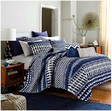 Bungalow Reversible 9 Piece Quilt Set in Navy only $49 99 at Bed