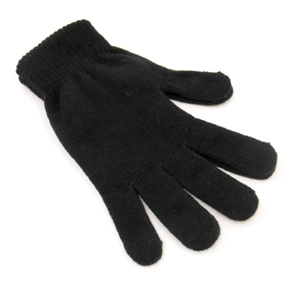 Laltex Men's Thermal Magic Gloves - Black, One Size