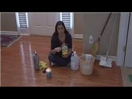 Bona Wood Floor Polish Remover by Housekeeping Tips Removing Wax From Wood Floors Youtube