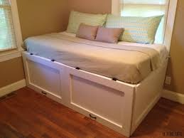 How To Make A Platform Bed Frame From Pallets by Diy Daybed 5 Ways To Make Your Own Bob Vila