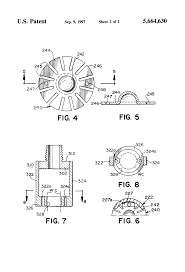 patent us5664630 extended coverage ceiling sprinklers and