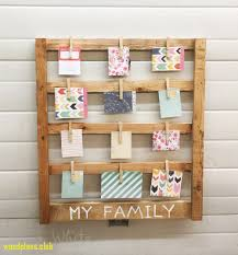 Easy Scrap Wood Photo Display Ts
