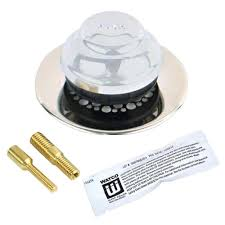 Bathtub Overflow Plate Adapter Bar by Watco Foot Actuated Bathtub Stopper With 3 8 In Pin Adapter In