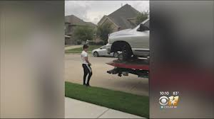 100 North Texas Truck Father Scrambles To Fix Daughters Birthday After