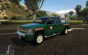 100 Game Warden Truck Forest ServiceUS Fish Wildlife For Slicktop Silverado