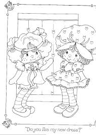 Strawberry Shortcake Coloring Book Pages