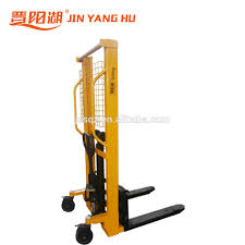 100 Hydraulic Hand Truck Operated Forklift Pallet Forklift Stacker