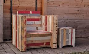 fabrication canapé palette bois mobilier en palette de bois