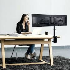 Monitor Stands For Desk by Wondrous Desk Monitor Mount Design U2013 Trumpdis Co