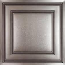 suspended ceiling tile ceilume stratford 2ft x 2ft faux metal