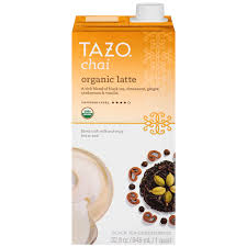 Tazo Pumpkin Spice Chai Latte Nutrition by Tazo Chai Concentrate Nutrition Facts Nutrition And Dietetics