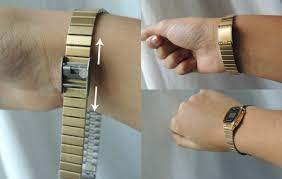 comment porter une montre revue la montre casio les pétales de mon coeur