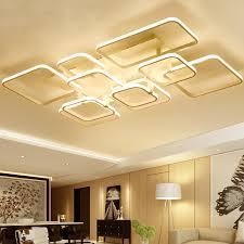 2017 new modern led ceiling chandelier lights for living room