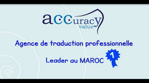 bureau de traduction accuracy value agence de traduction à casablanca maroc bureau