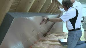 Insulating Cathedral Ceiling With Rigid Foam by Installing A Radiant Barrier In The Attic Alternative Method To