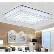 rectangle flush mount living room bedroom led ceiling lights