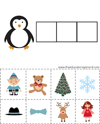 Free Christmas Printable Pack & Learning Printables for Kids
