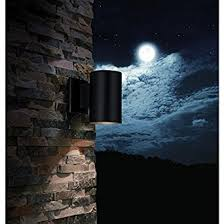 matte black sky outdoor wall light 7 in h