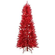 Pencil 6ft Pre Lit Christmas Tree by Color Changing Artificial Christmas Trees Christmas Trees