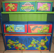 Ninja Turtle Decorations Ideas by Furniture Plastic Angled Toy Organizer With Bins For Home
